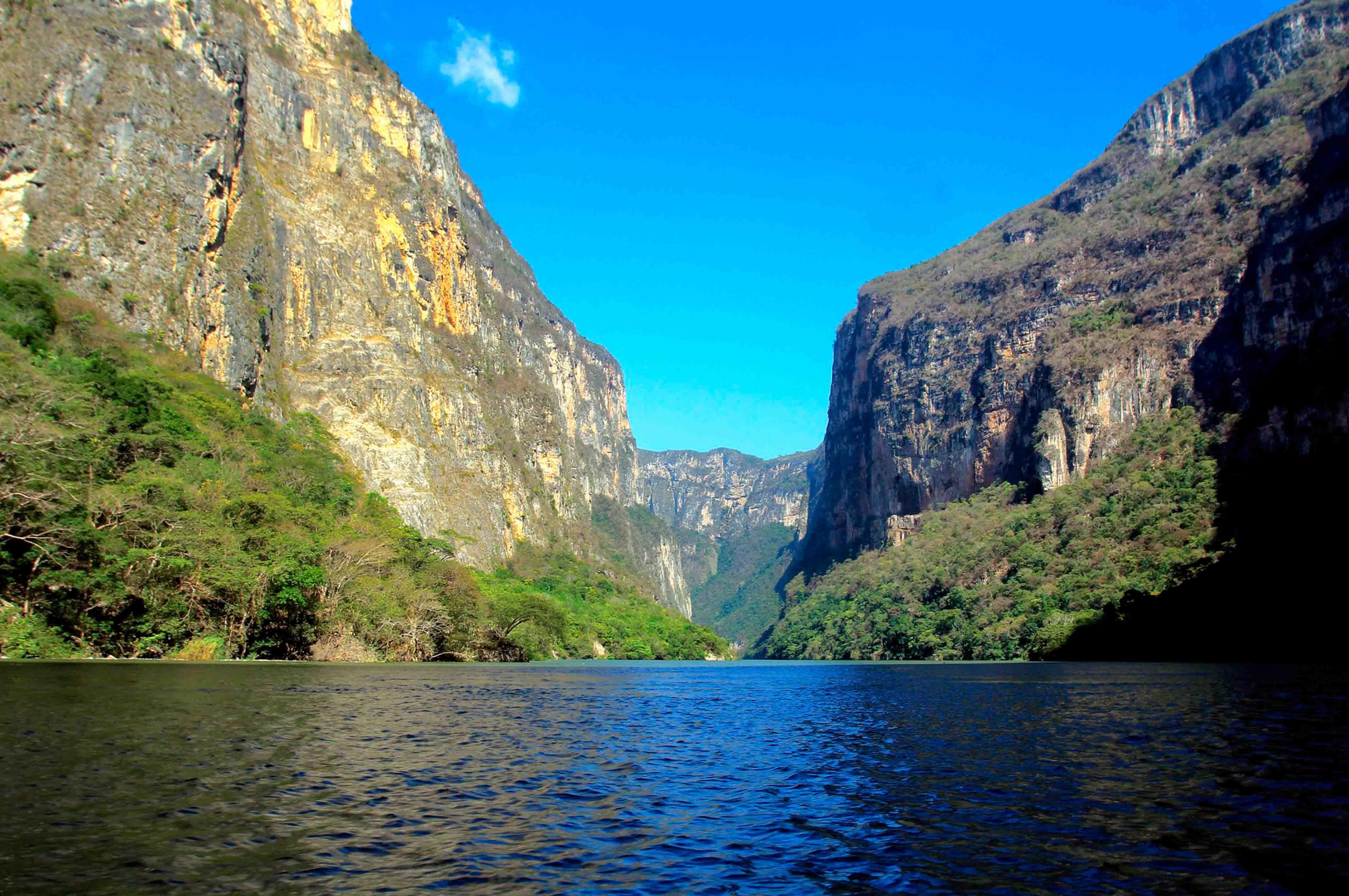 Majestuoso Cañón del Sumidero